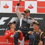 Maldonado vence a Alonso en el GP de España