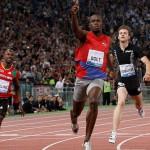 Bolt, mejor marca del año en Roma
