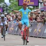 Vinokourov campeón olímpico de ciclismo en Londres 2012
