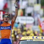 Luis León Sánchez consigue la primera victoria española en el Tour
