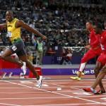 Usain Bolt gana el oro en 100 metros