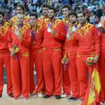 España medalla de plata ante EEUU