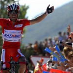 Purito Rodríguez gana la etapa y es más líder