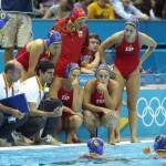 España medalla de plata en waterpolo femenino