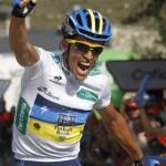 Contador gana la etapa y es líder de la Vuelta