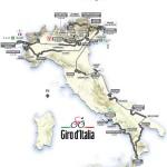 Recorrido del Giro de Italia 2013