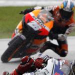 GP de Malasia, protagonista la lluvia