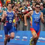 Javier Gómez Noya subcampeón del mundo de triatlón