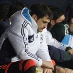 Íker Casillas suplente con Mourinho