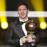 Messi cuarto Balón de Oro consecutivo