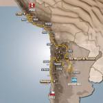 Recorrido y etapas del Dakar 2013
