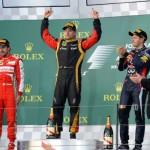 Raikkonen gana el GP de Australia, y Alonso es segundo