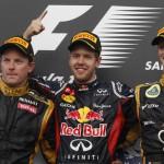 Vettel gana en Bahrein, Alonso con avería octavo