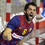 Juanín García, récord de dos mil goles en la liga Asobal