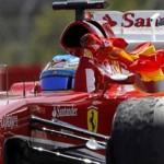 Alonso gana el GP de España, por delante de Raikkonen