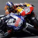 Lorenzo vence en el GP de Italia, por delante de Pedrosa