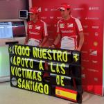El deporte con las víctimas del accidente de tren de Santiago