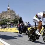 Tony Martin gana la crono del Tour, Froome líder en solitario