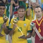 Neymar, mejor jugador de la Copa Confederaciones