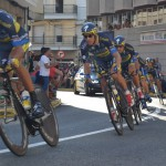 Astana gana la contrarreloj por equipos de La Vuelta