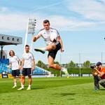 """El Real Madrid en el desafío """"Bwin Skill Series"""""""