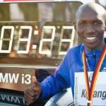 Wilson Kipsang récord mundial en maratón de Berlín