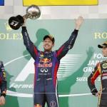 Vettel gana el GP de Japón, Alonso cuarto