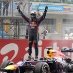 Vettel gana el GP de India y es campeón mundial