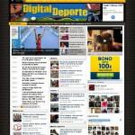Digital Deporte cambia de diseño