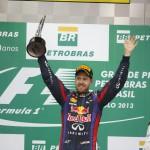 Red Bull y Alonso en el podio del GP de Brasil