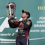 Vettel gana el GP de EEUU, y van ocho