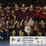 Barcelona campeón Copa Asobal 2013