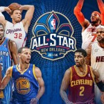 Quintetos titulares NBA All Star 2014