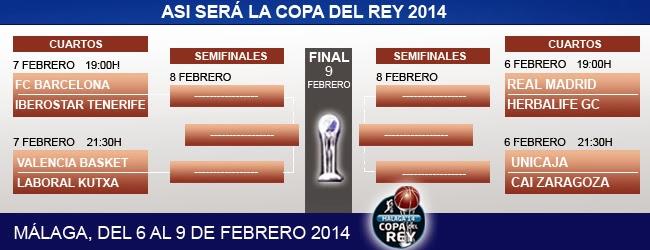 Copa del Rey de baloncesto Málaga 2014 - Digital Deporte