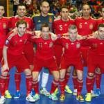 España bronce en el Europeo de Fútbol Sala Bélgica 2014