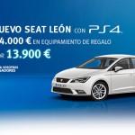 Nuevo Seat León con PS4