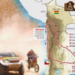Recorrido rally Dakar 2015