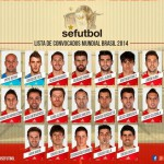 Lista de 23 de España para el Mundial de Brasil