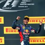 Ricciardo gana el GP de Hungría, Alonso segundo