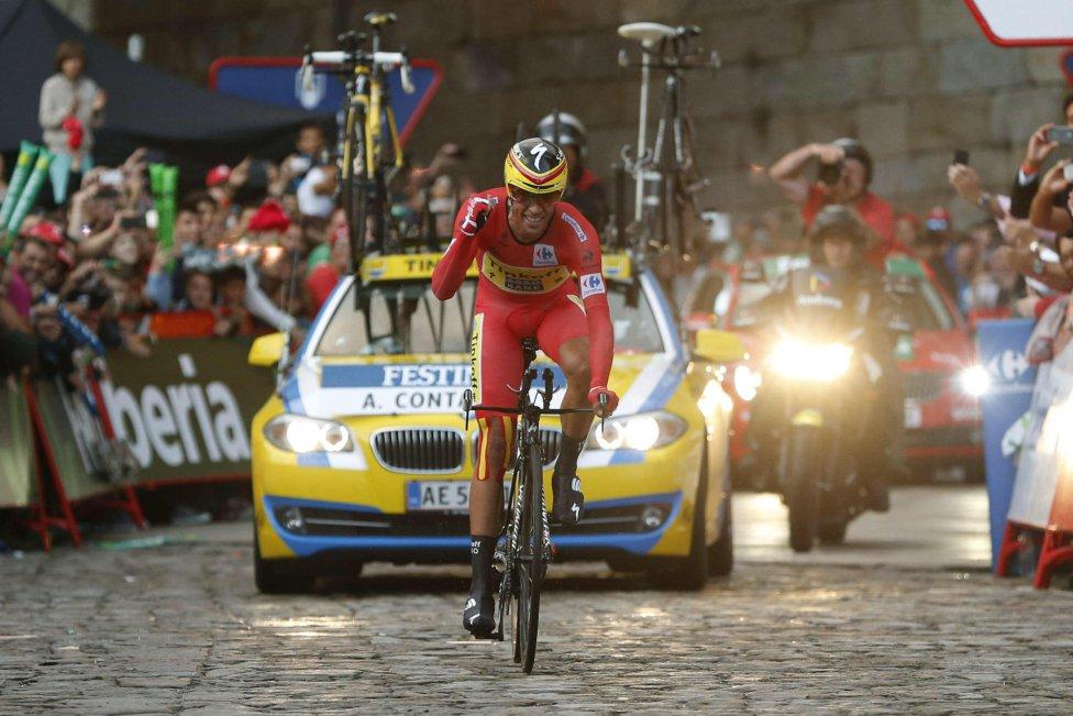 Contador gana la Vuelta