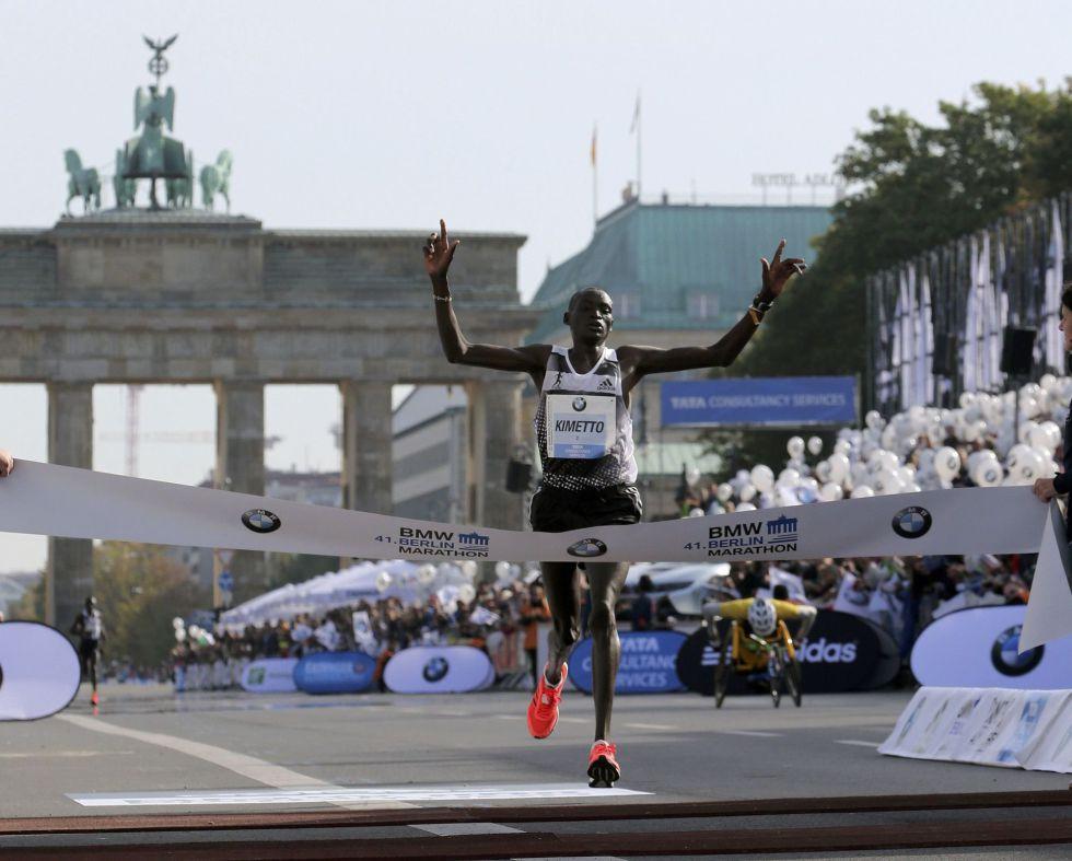 récord mundial de maratón
