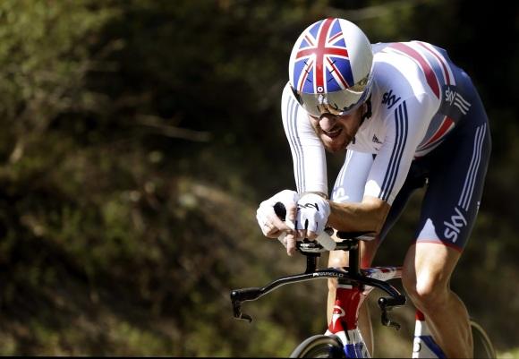 Wiggins gana el mundial de contrarreloj