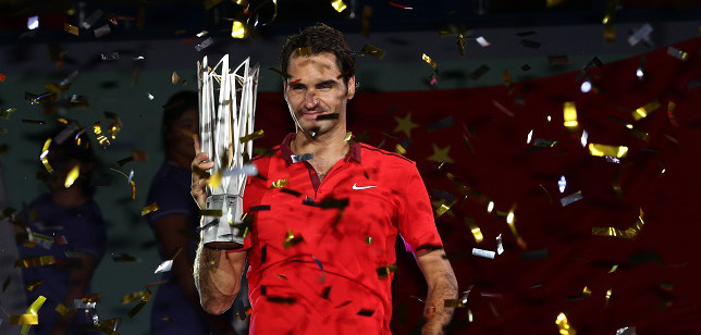 Federer gana el masters de Shanghai