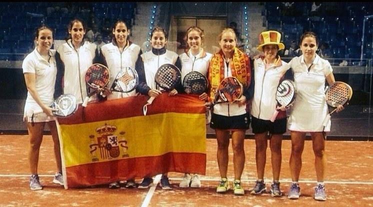 España campeona del mundo de pádel femenino