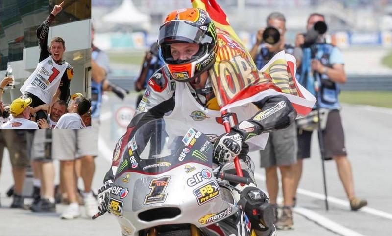 Tito Rabat campeón del mundo en moto2