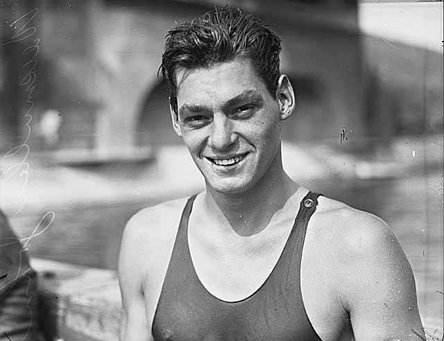 Johnny Weissmuller, el Tarzán olímpico