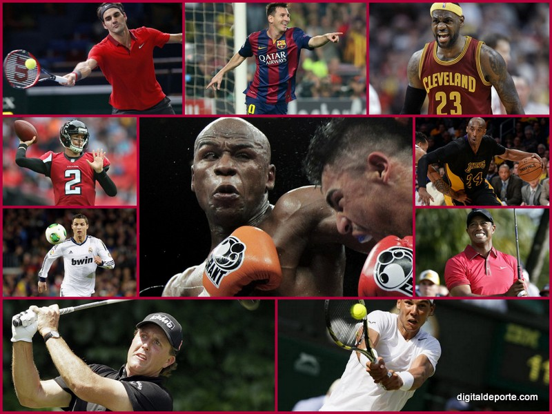 Los deportistas mejor pagados