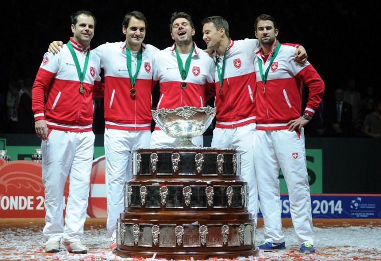 Suiza gana la Copa Davis