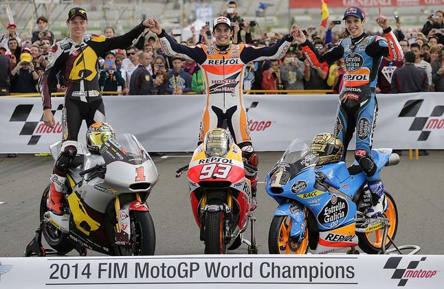 Triplete español de Motociclismo