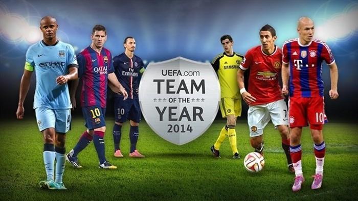 Vota al once ideal de la UEFA